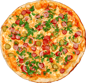 veg hot pizza image